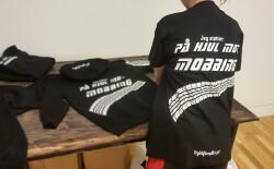T-Shirt - På Hjul Mot Mobbing